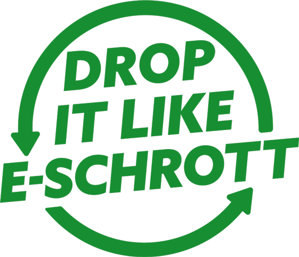 Drop it like eschrott logo
