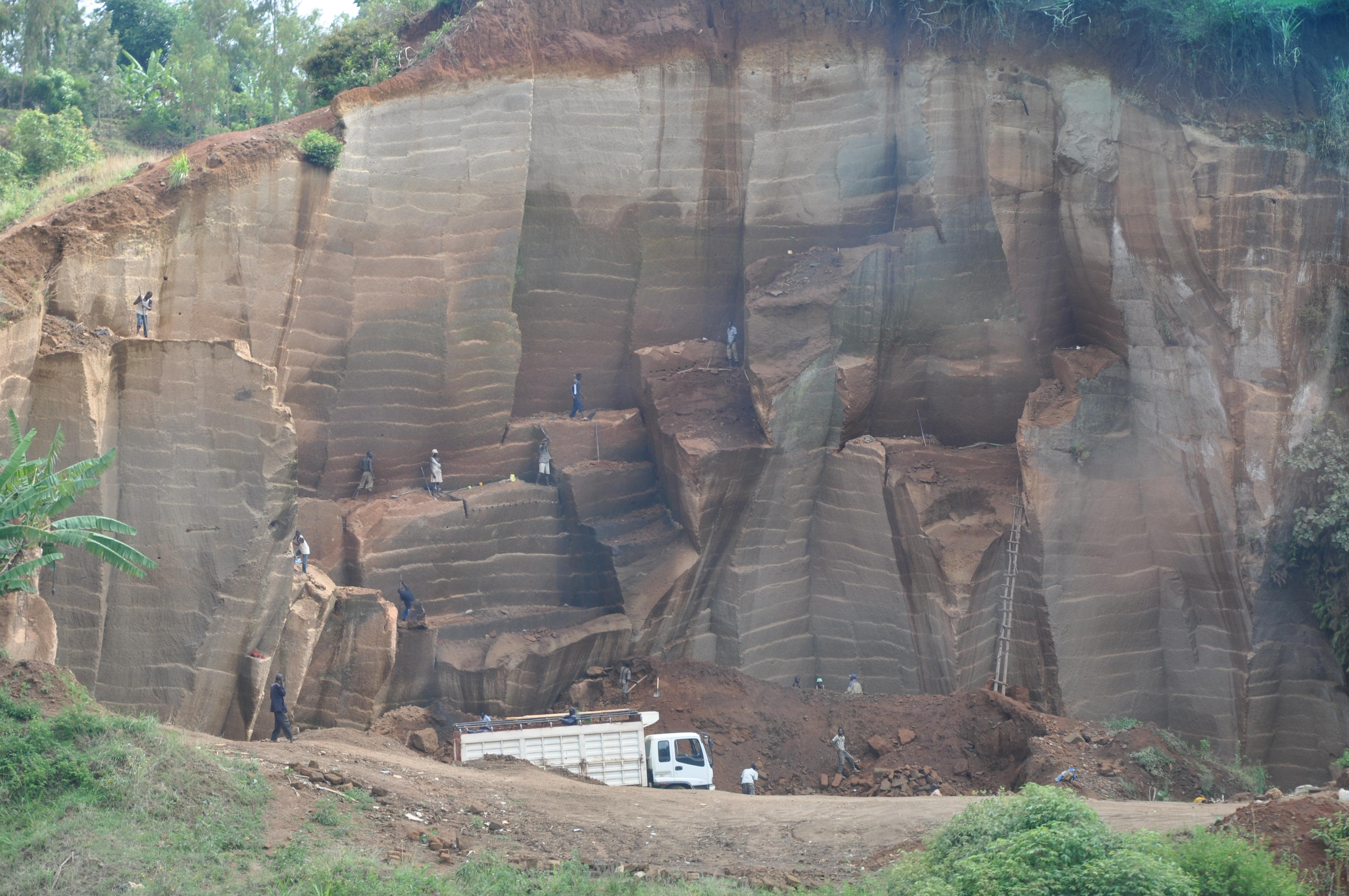 Rohstoffabbau in Afrika
