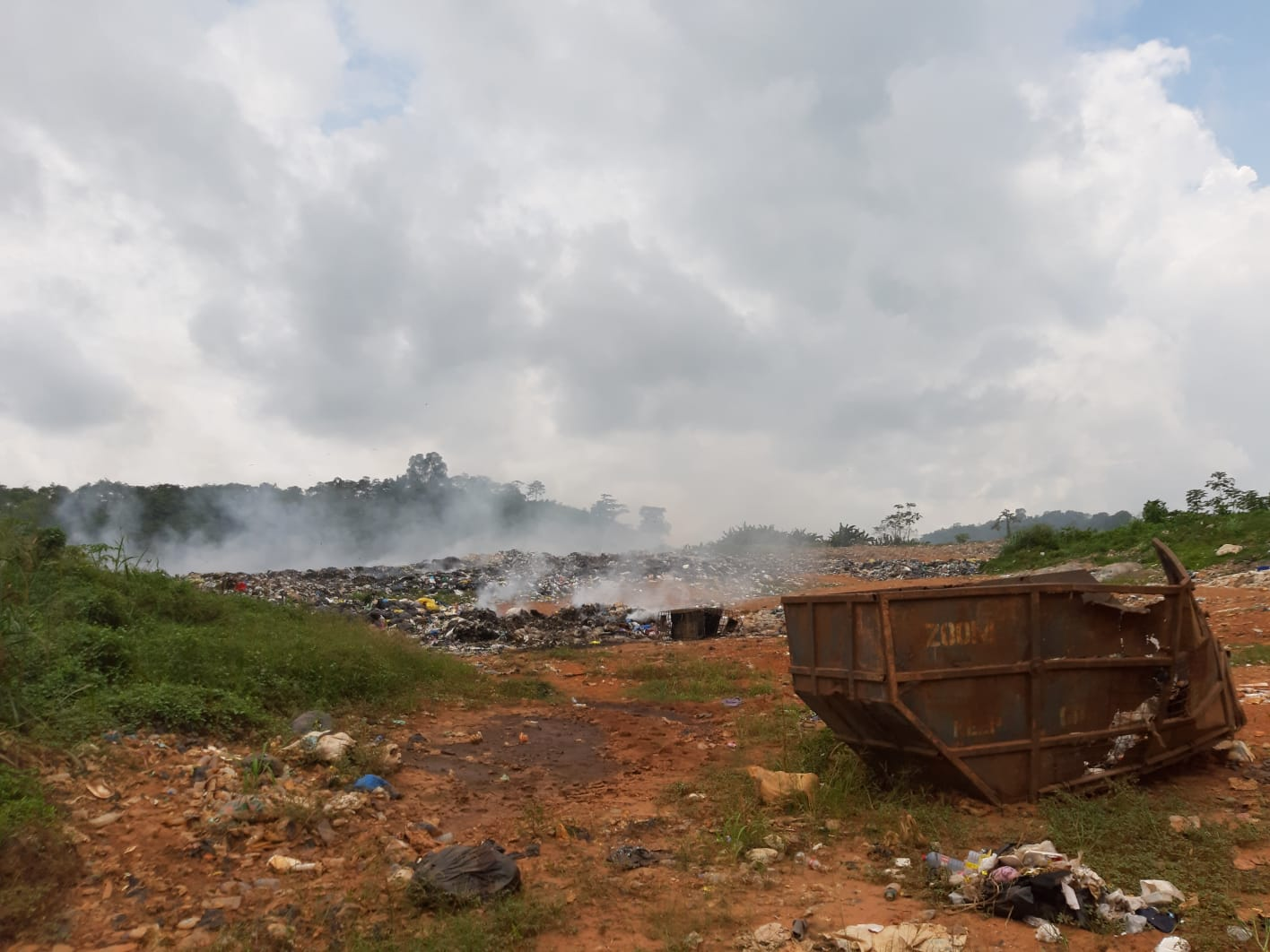 Elektroschrottplatz Agbogbloshie in Accra (Ghana)