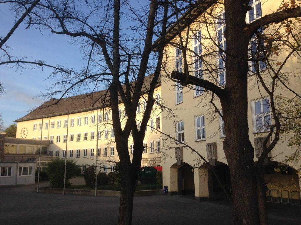 Außenansicht der Goetheschule in Wetzlar
