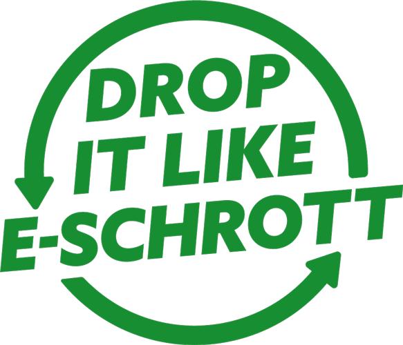 Drop it like eschrott logo
